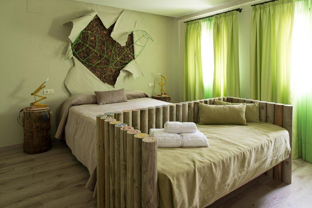Hotel Essentia - Green Bedroom