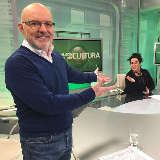 (Español) Mercedes Eirín entrevistada en Andalucía al día, Canal Sur