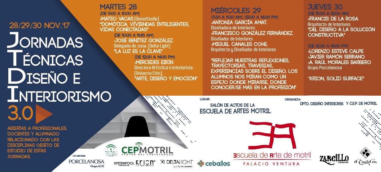 (Español) Jornadas Técnicas 3.0 Escuela de Arte de Motril