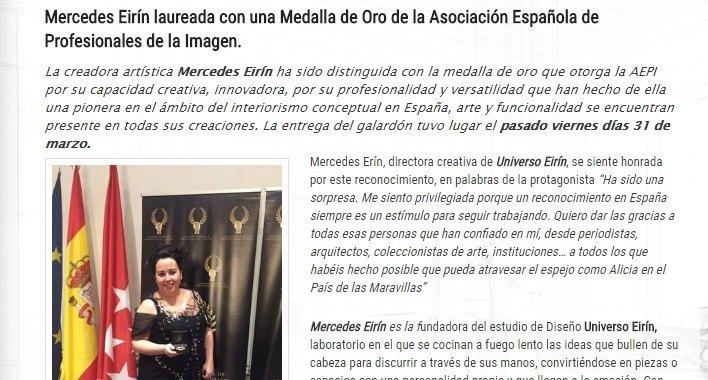 La medalla de oro de AEPI, en ExtendaPlus