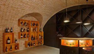 Diseño de bar, vinoteca