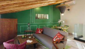 Diseño de habitación, interiorismo