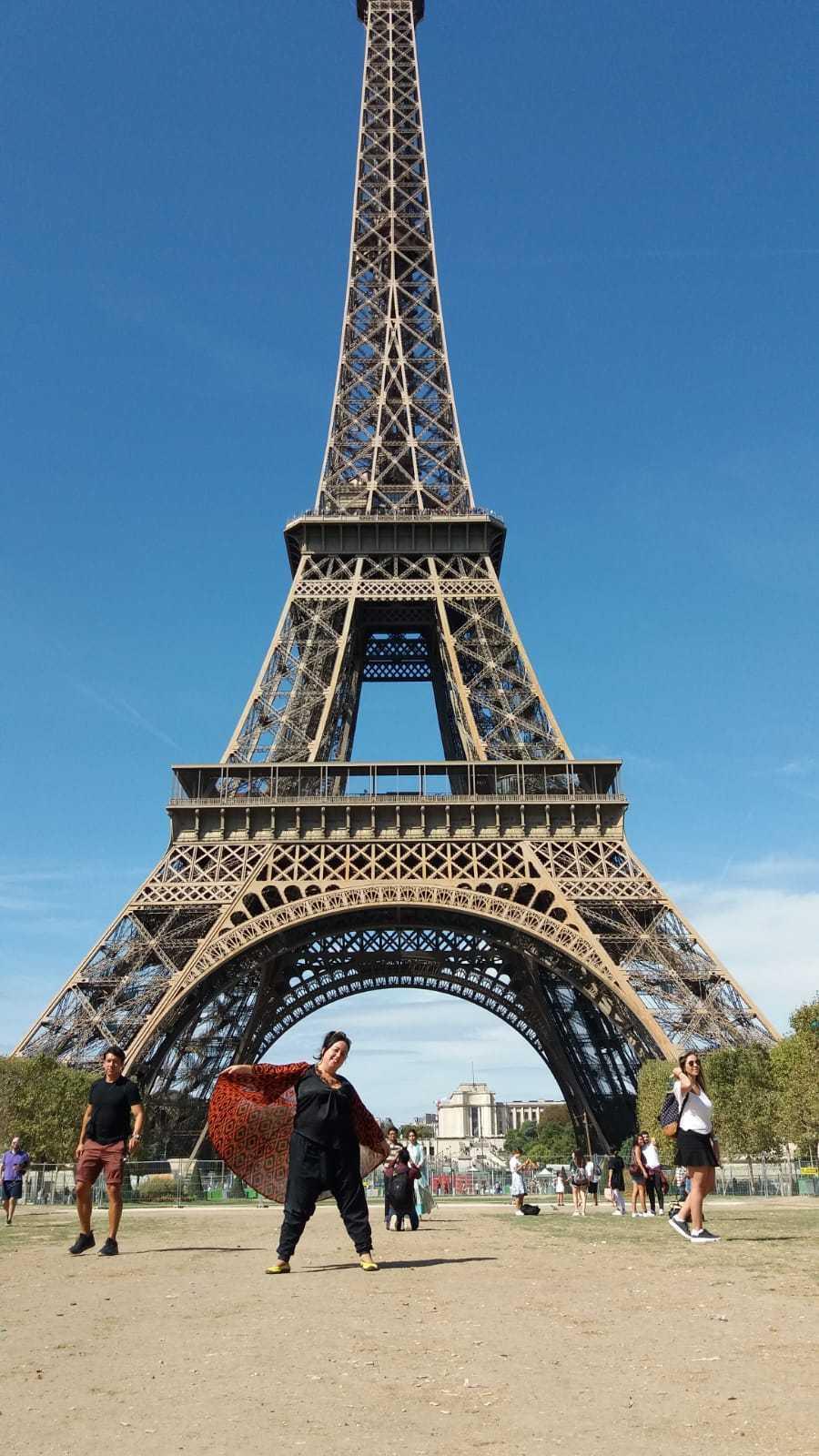 Mercedes Eirín en París