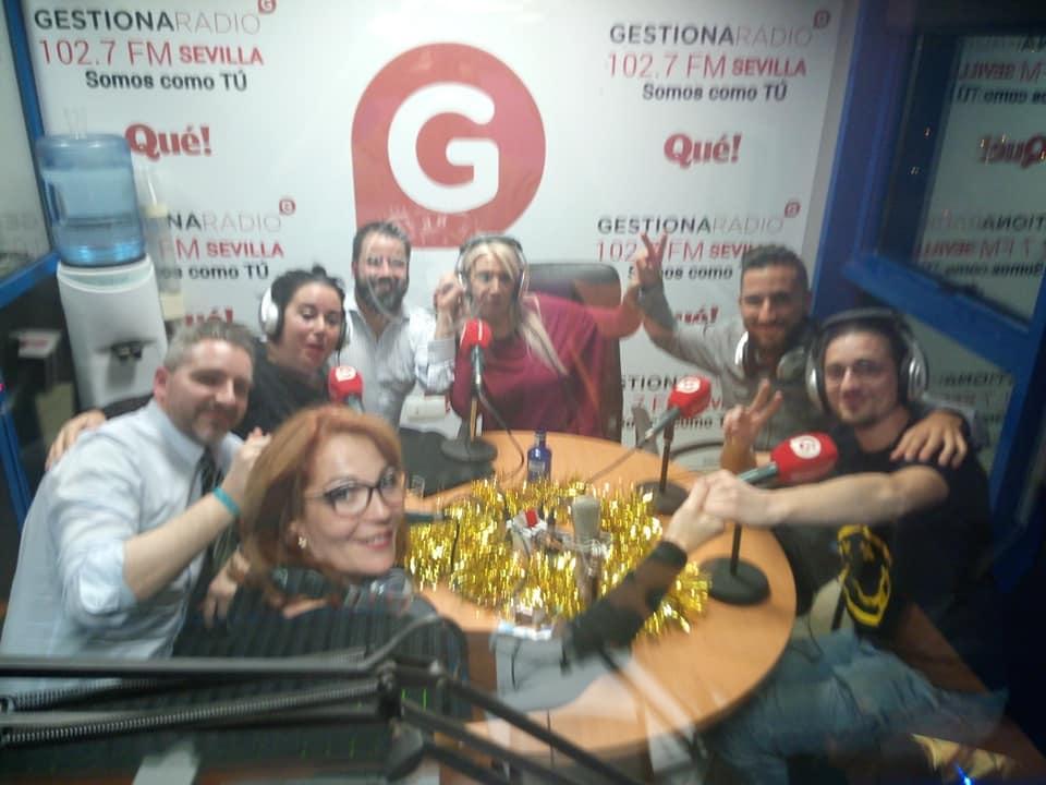 (Español) Mercedes Eirín en Gestiona Radio Sevilla