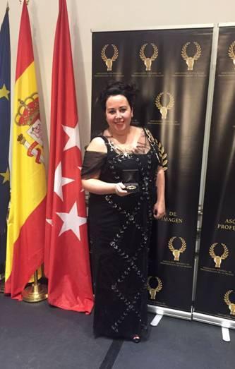 Mercedes Eirín gana Medalla de Oro de Profesionales de la Imagen.