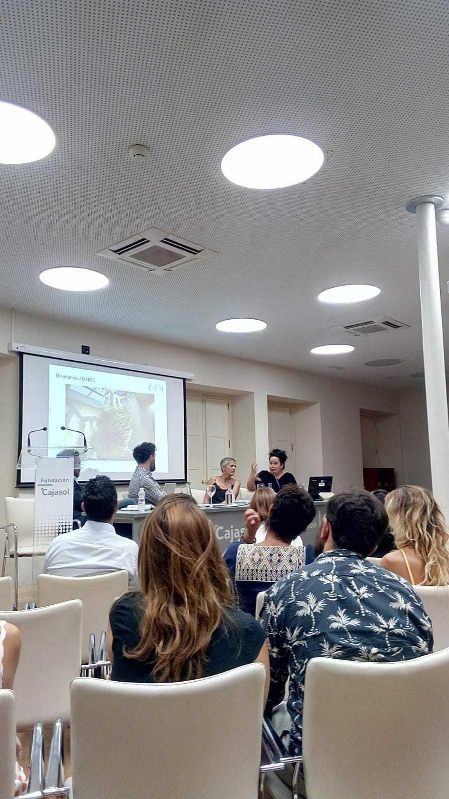 (Español) Mercedes Eirín en las Jornadas Industria creativa y territorio 2020