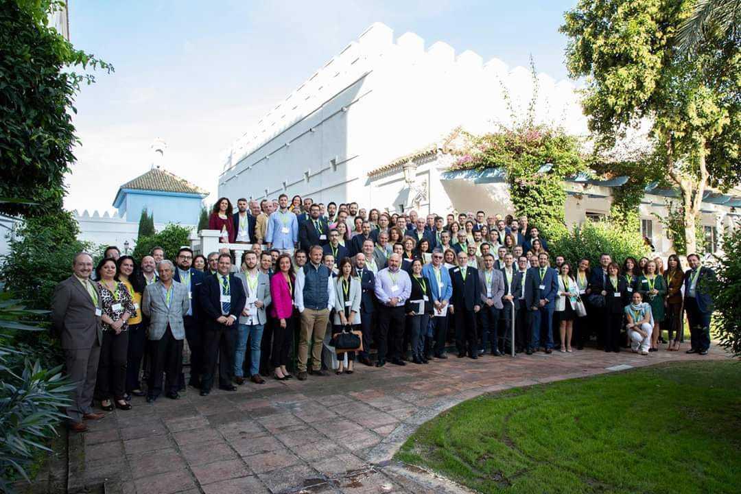 En el congreso de Empresarios de BNI