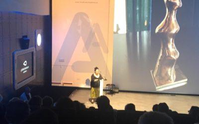 Mercedes Eirín en Premios ISA 2019
